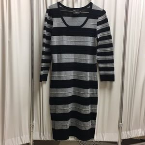 JUST...TAYLOR Striped lounger rayon Dress